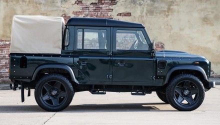 For Sale: 2013 Land Rover Defender pickup, modified by Kahn Design