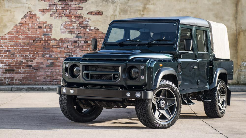 For Sale 2013 Land Rover Defender Pickup Modified By