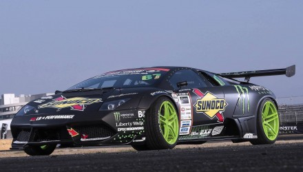 Lamborghini Murcielago drift car begins testing, uses RWD conversion