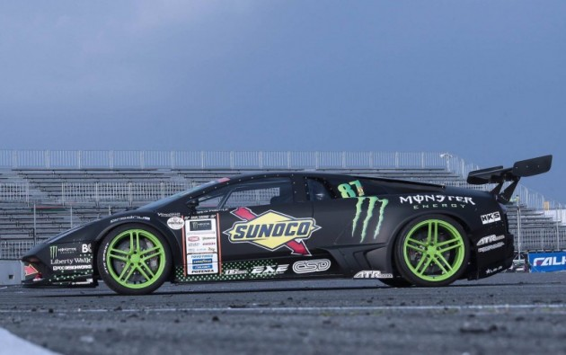 Lamborghini Murcielago drift car-side