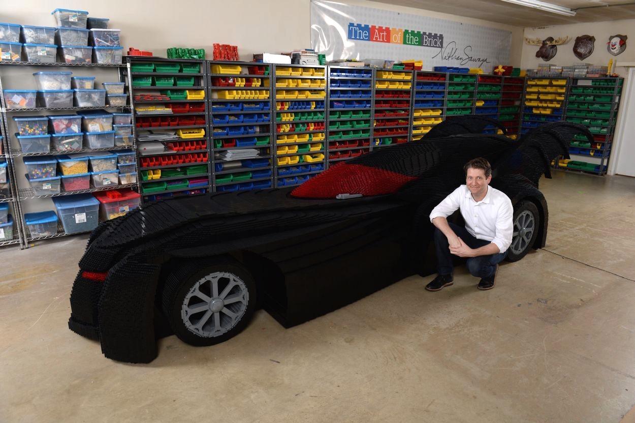 Lego Batmobile Heading To Art Of The Brick Exhibition In