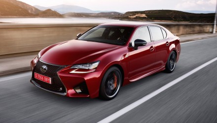 Lexus GS F on sale in Australia in February