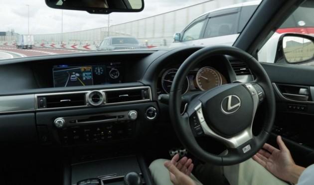 Lexus GS Highway Teammate-interior
