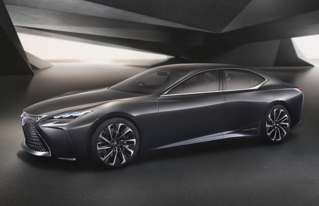 Lexus LF-FC concept-front