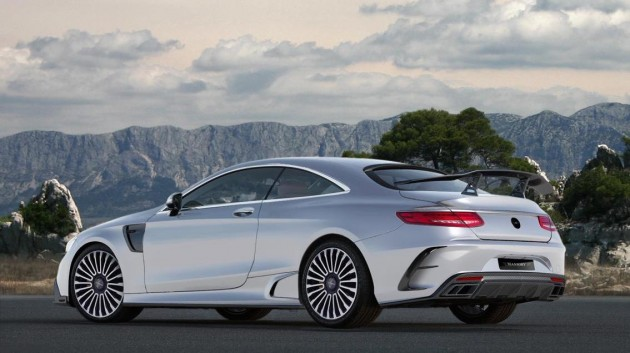 Mansory Mercedes-AMG S 63 AMG Coupe-rear