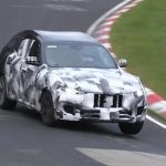 Maserati Levante prototype spotted on the Nurburgring (video)