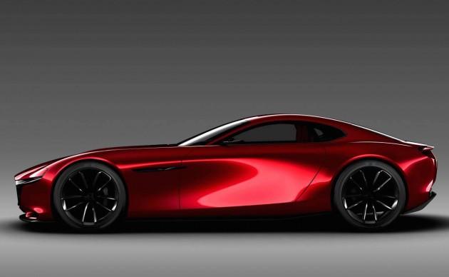 Mazda RX-VISION concept-side