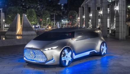 Futuristic Mercedes-Benz Vision Tokyo concept revealed
