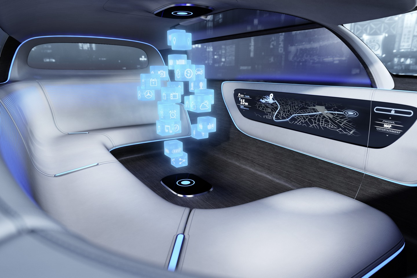 futuristic mercedes benz vision tokyo concept revealed performancedrive. Black Bedroom Furniture Sets. Home Design Ideas