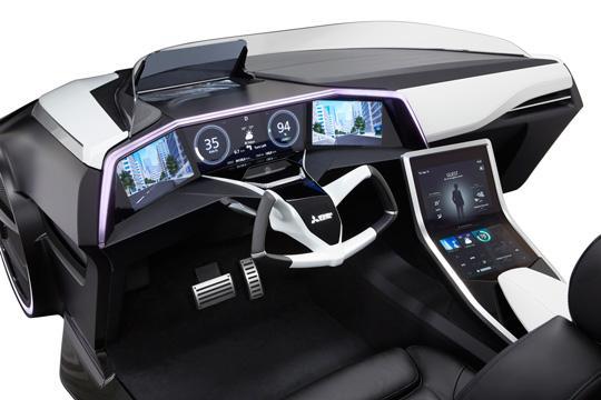 Mitsubishi EMIRAI 3 xDAS-interior