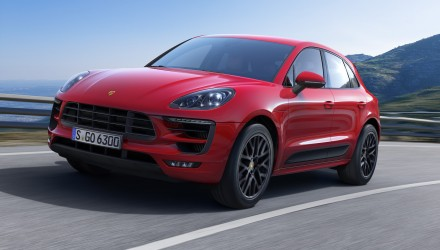 Porsche Macan GTS revealed, coincides with MY17 updates