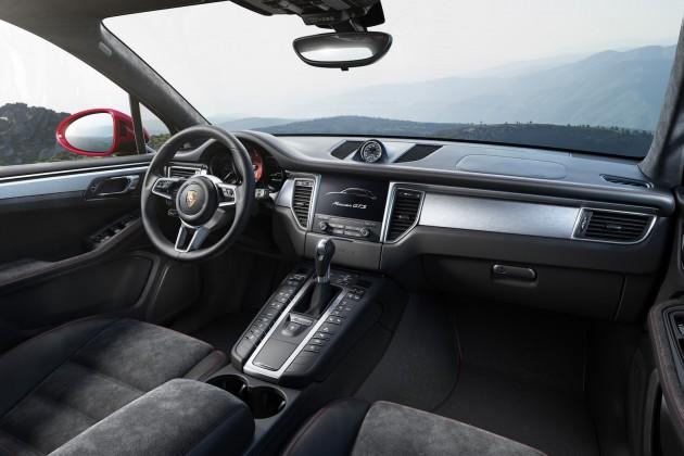 Porsche Macan GTS-interior