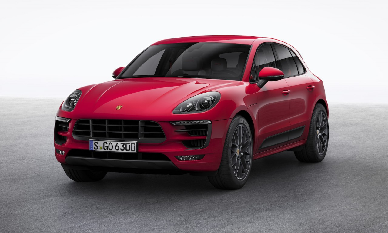 Porsche macan gts revealed coincides with my17 updates - Porsche macan white with red interior ...