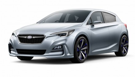 Subaru previews future Impreza with stylish concept