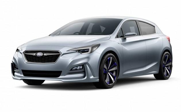 Subaru Impreza concept 2015 Tokyo show