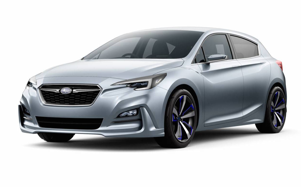 Contact Mazda Of Humble >> Subaru previews future Impreza with stylish concept | PerformanceDrive