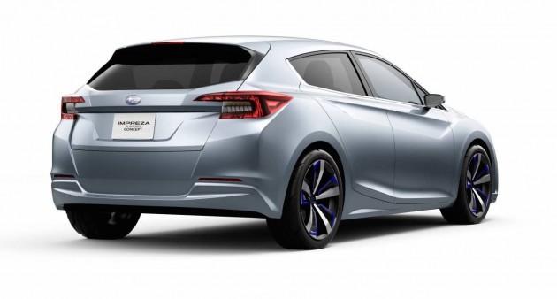 Subaru Impreza concept 2015-rear