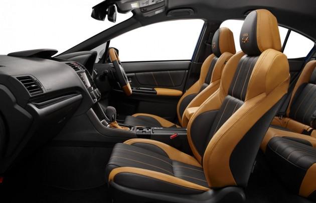 Subaru WRX S4 SporVita-interior