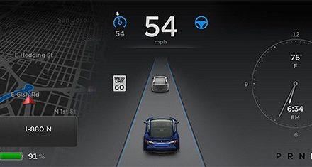 Tesla announces 7.0 software update with Autopilot technologies