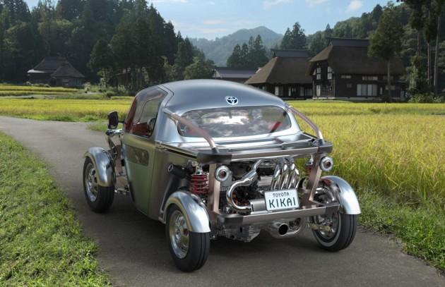 Toyota KIKAI concept-back