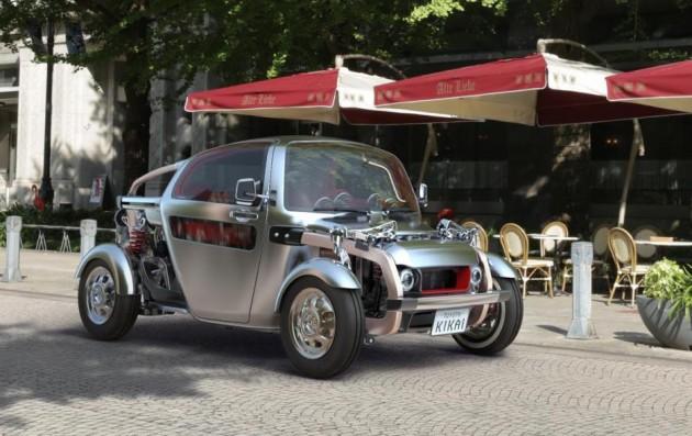 Toyota KIKAI concept-road