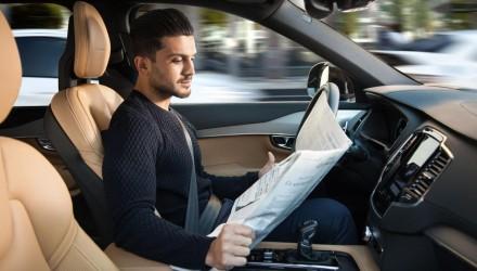 Volvo IntelliSafe Auto Pilot technology revealed (video)