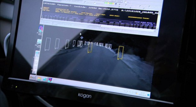 Volvo kangaroo sensor