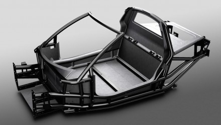 iStream Carbon tub chassis revealed, ready for production