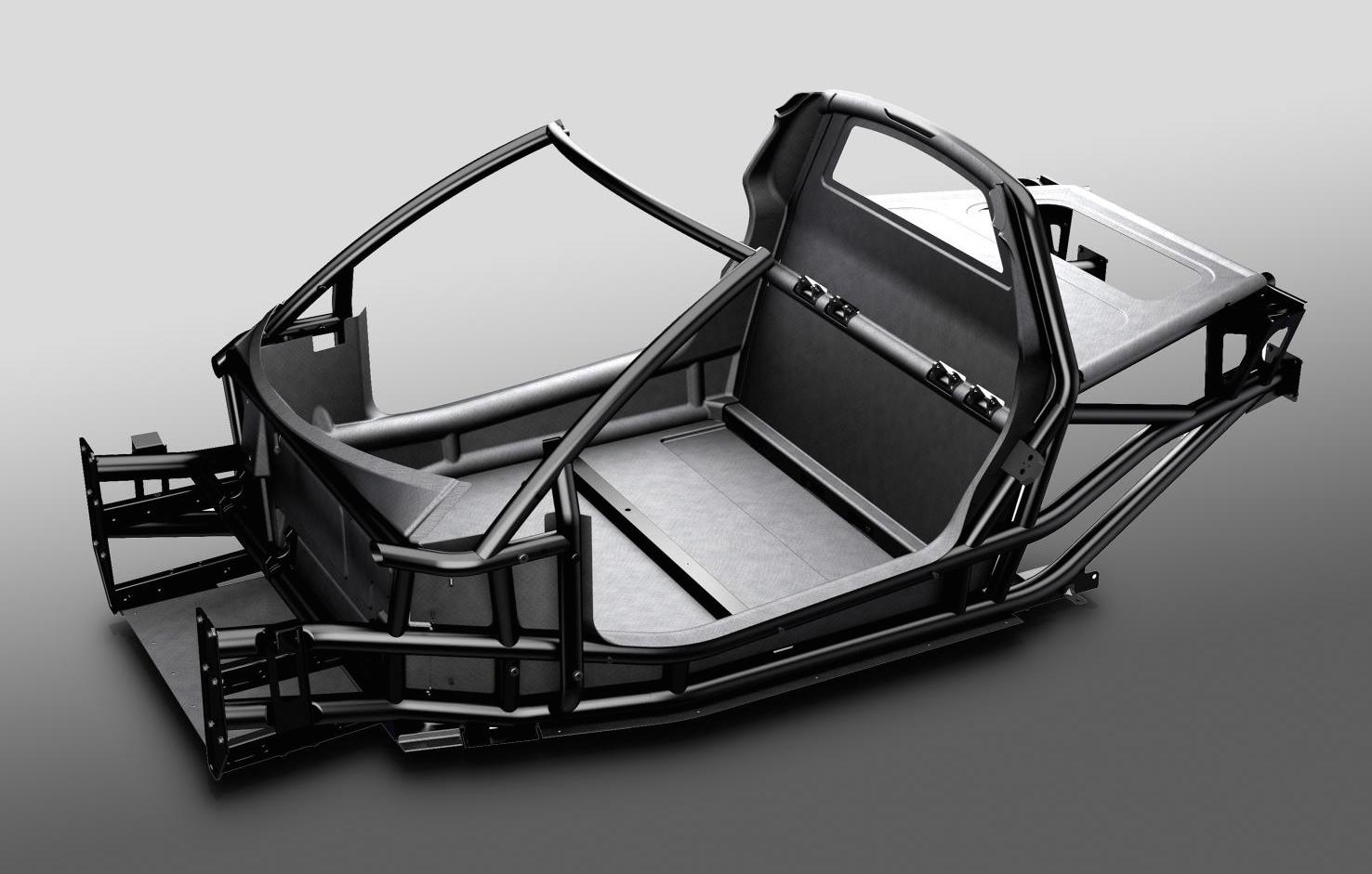 Istream Carbon Tub Chassis Revealed Ready For Production
