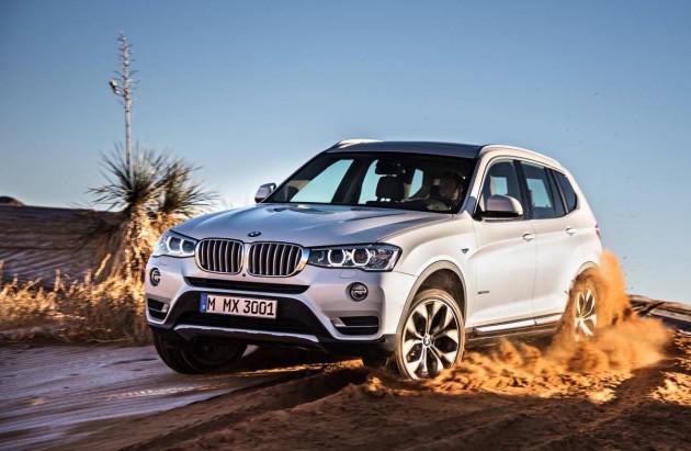 2014-2015 BMW X3