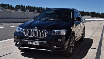 BMW X3 track test: Can an SUV handle like a sports car? (video)