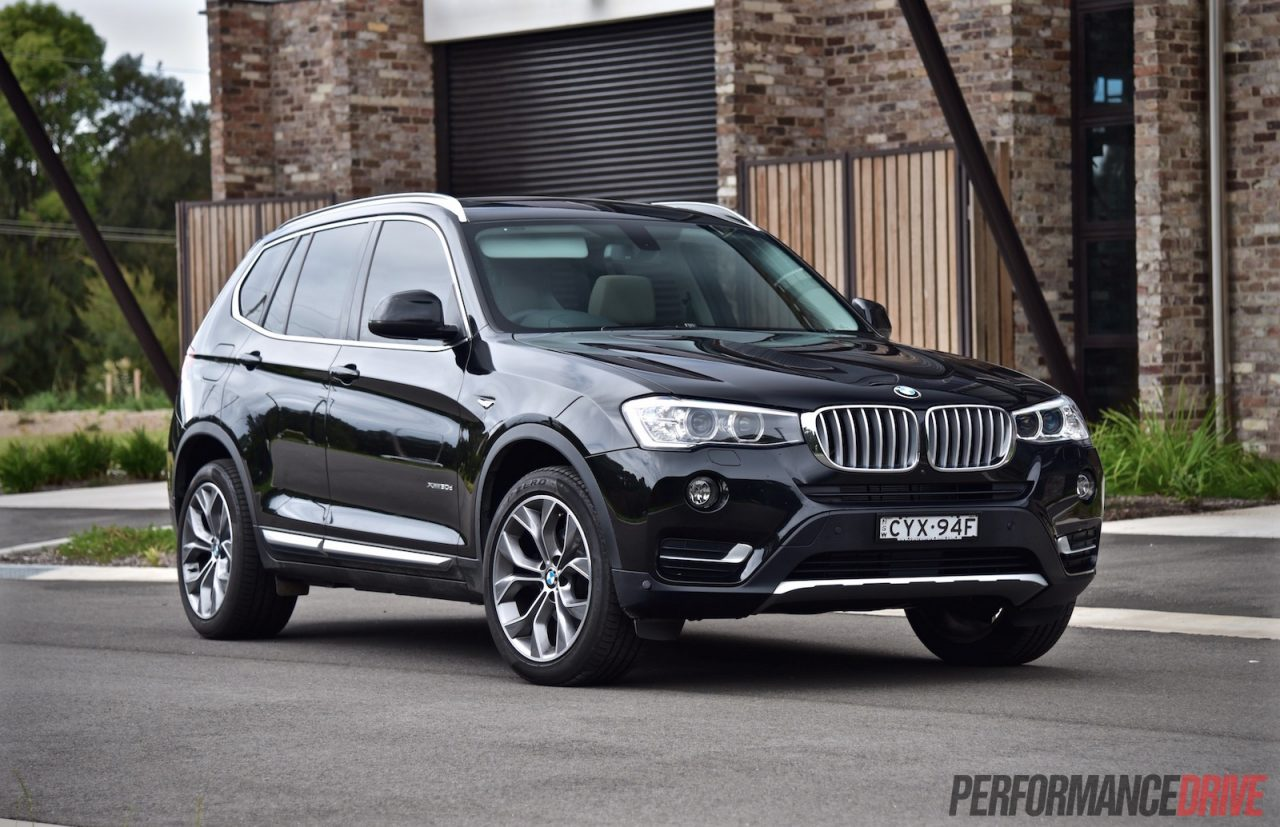 2015 bmw x3 xdrive30d review video performancedrive. Black Bedroom Furniture Sets. Home Design Ideas