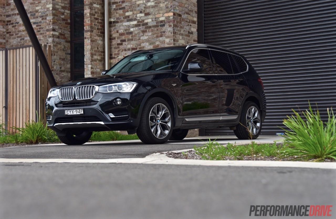 2015 BMW X3 XDrive30d Black