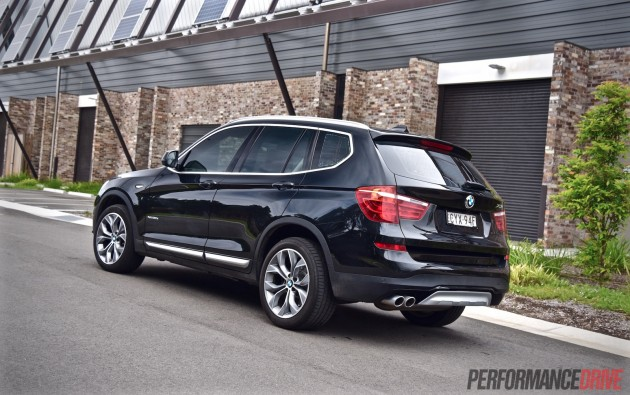 2015 BMW X3 xDrive30d-rear