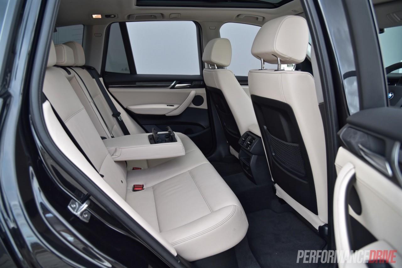 2015 bmw x3 xdrive30d rear seats
