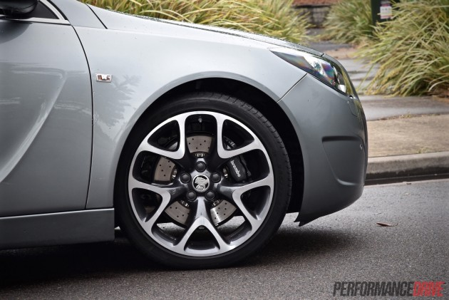 2015 Holden Insignia VXR-brakes
