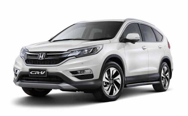 2015 Honda CR-V VTi 4WD Limited Edition