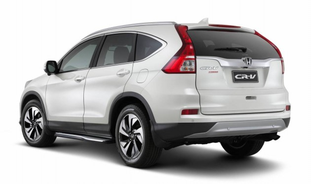 2015 Honda CR-V VTi 4WD Limited Edition-rear
