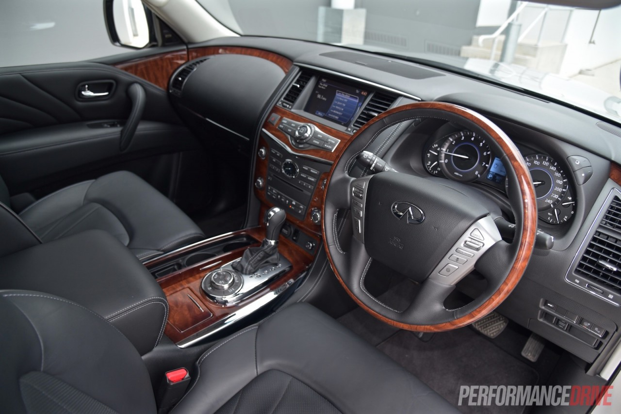 Nissan Suv For Sale >> 2015 Infiniti QX80 review (video) | PerformanceDrive