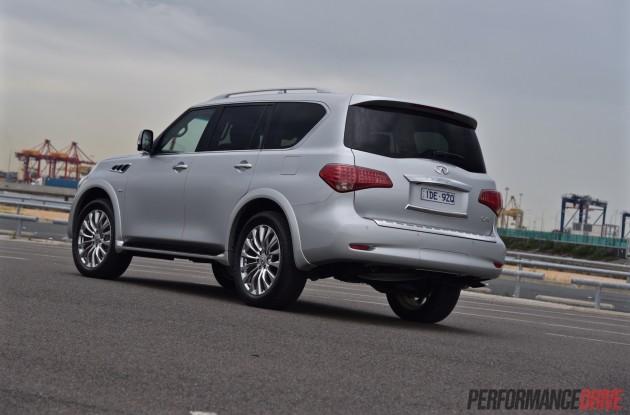 2015 Infiniti QX80-rear