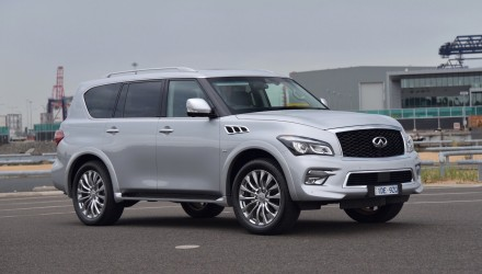 2015 Infiniti QX80 review (video)