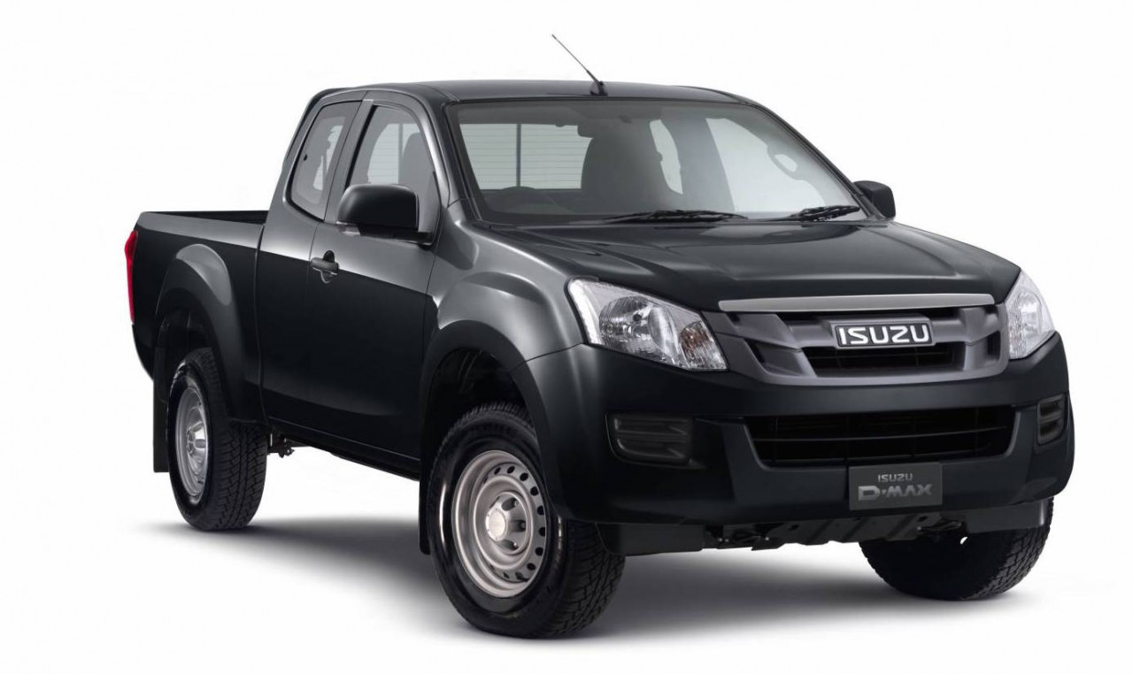 isuzu d max mu x receive new 4x2 variants in australia performancedrive. Black Bedroom Furniture Sets. Home Design Ideas