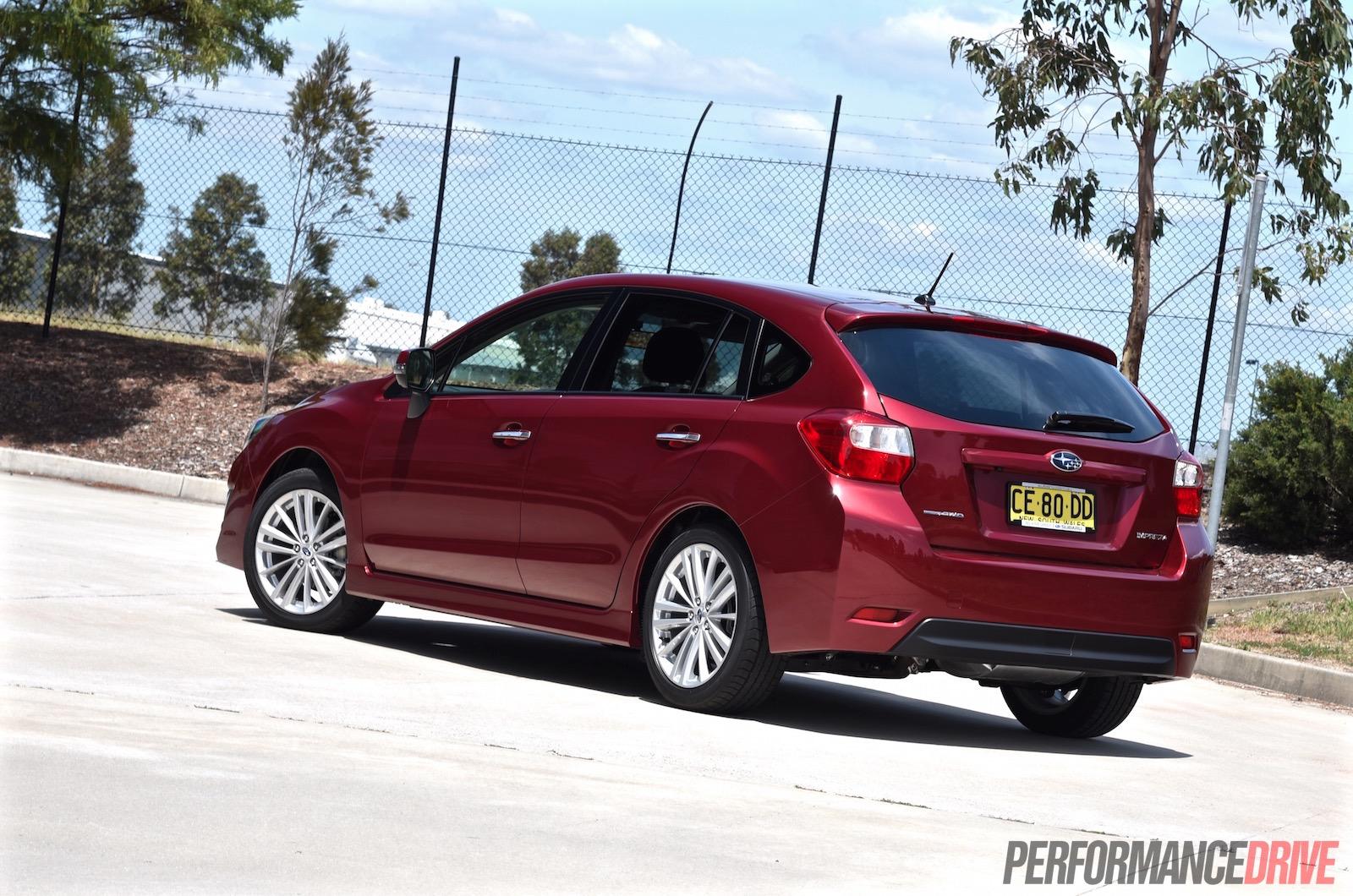 2015 Subaru Impreza 2 0i S Review Video Performancedrive