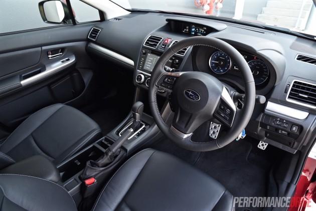 2015 Subaru Impreza 2.0i-S interior