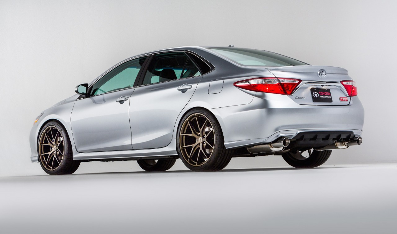 Toyota Shows Trd Corolla Amp Trd Camry Potential At Sema