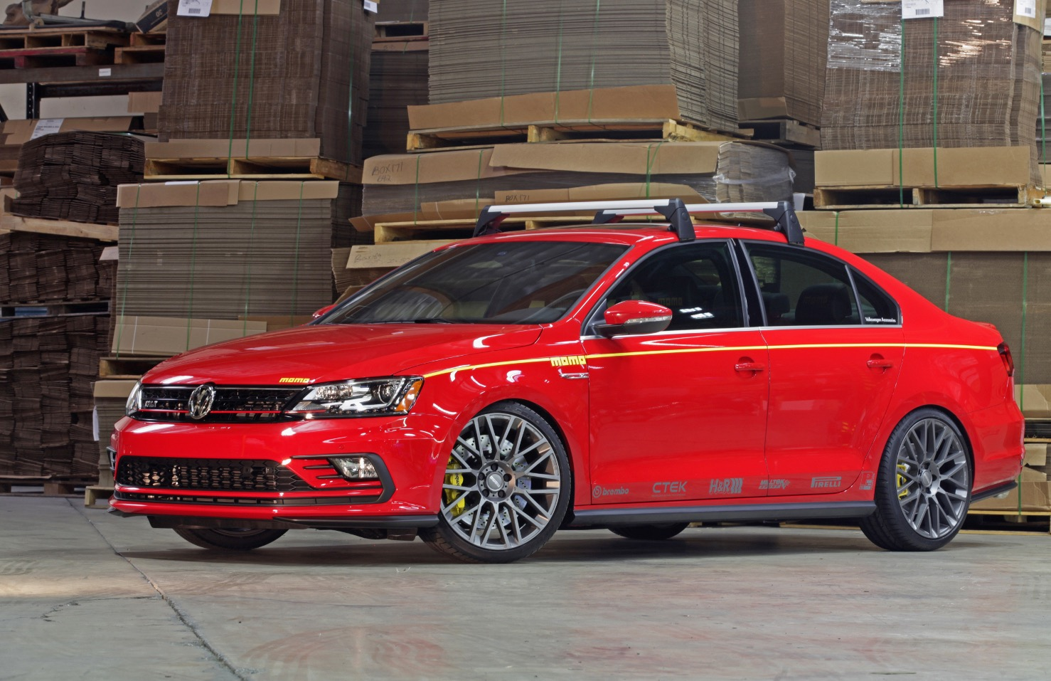 Based on the overseas Jetta GLI, MOMO has infused its usual array of ...