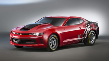 2016 Chevrolet Camaro COPO turn-key drag car debuts at SEMA