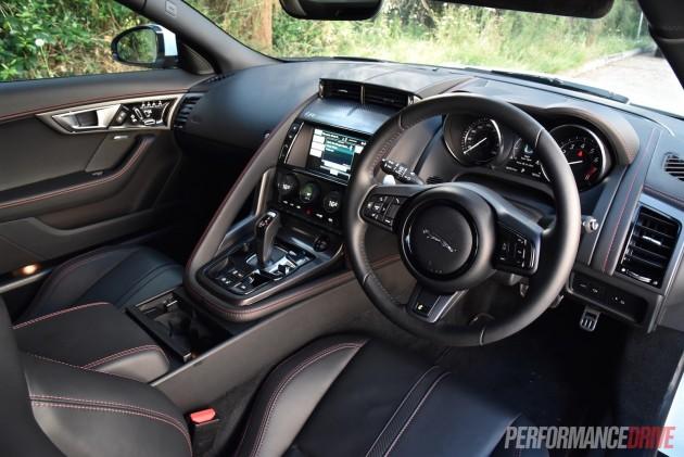 2016 Jaguar F-Type R AWD-interior