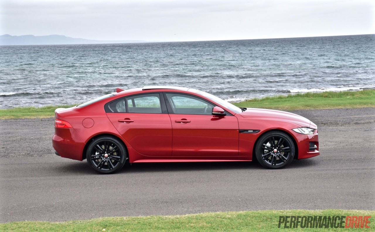 2016 jaguar xe r sport 20t review video performancedrive