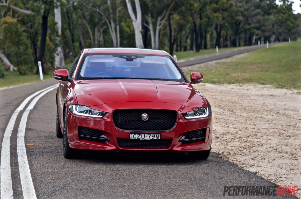 Performance Driving School >> 2016 Jaguar XE R-Sport 20t review (video)   PerformanceDrive